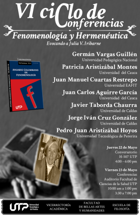 01 Afiche VI Ciclo de conferencias Fenomenología y Hermenética